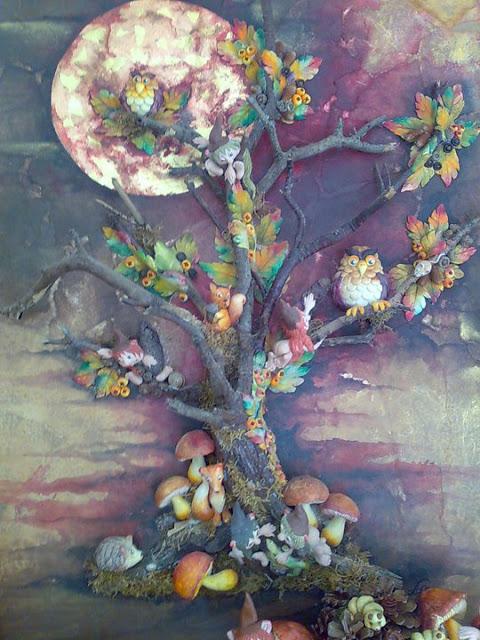 albero di luce