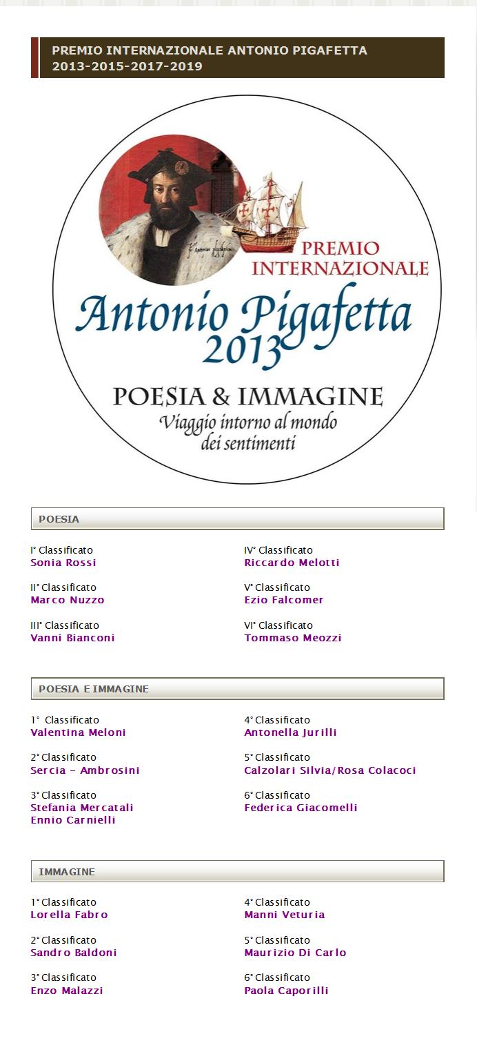 Premio Pigafetta