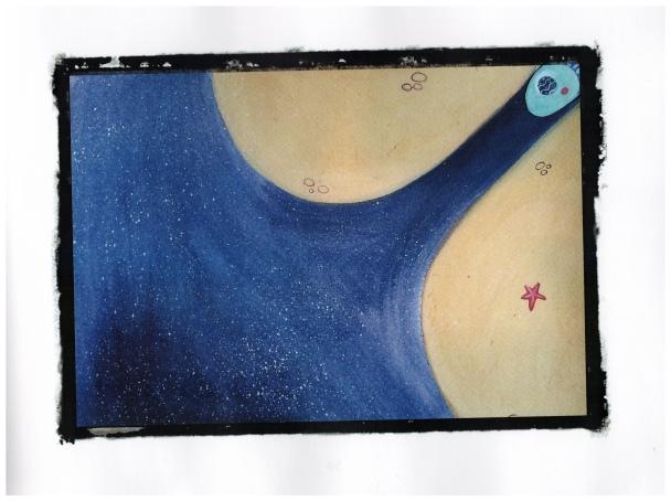 Il cielo di sotto Lo spazio blu