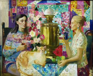 mother and daughter, olga suvorova
