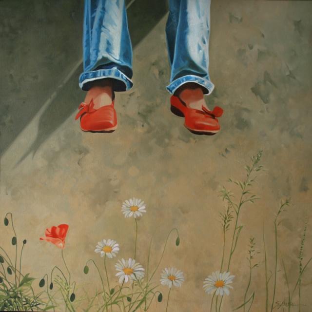 """""""Scarpette rosse"""" di Silvana Alasia"""