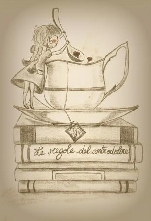 illustrazione originale dell'autrice