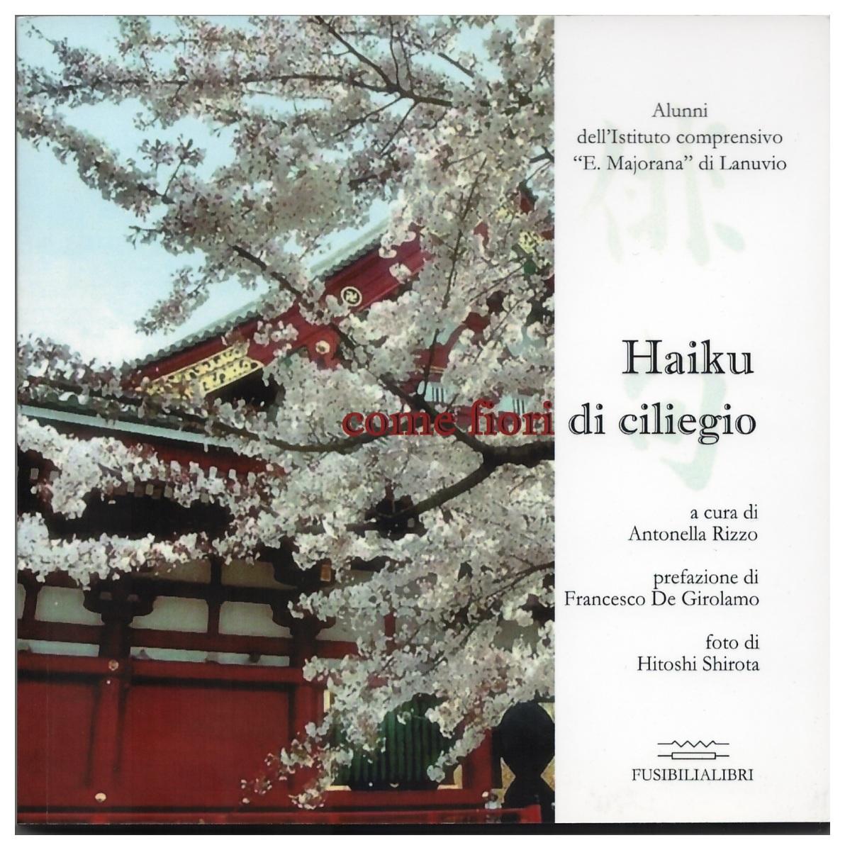 Haiku come fiori di ciliegio