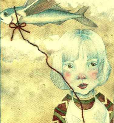 La bambina e il Pesce Volante di Serena Vajngherl