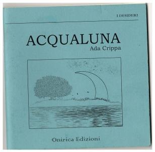 Acqualuna di Ada Crippa copertina