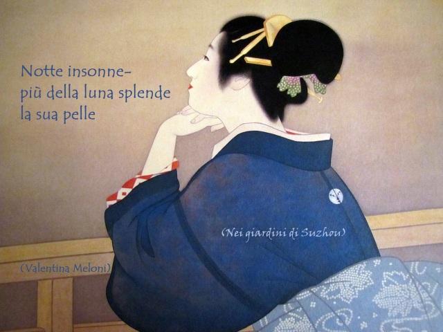 """""""Woman Waiting for the Moon"""" di Uemura ShōenShoen"""