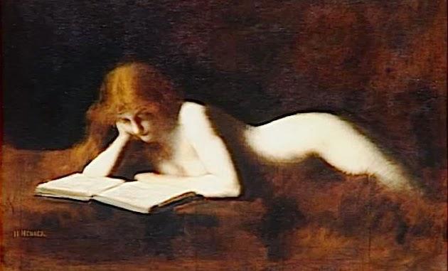 Jean Jacques Henner-La liseuse