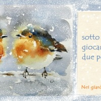 Sotto la neve -Haiku-