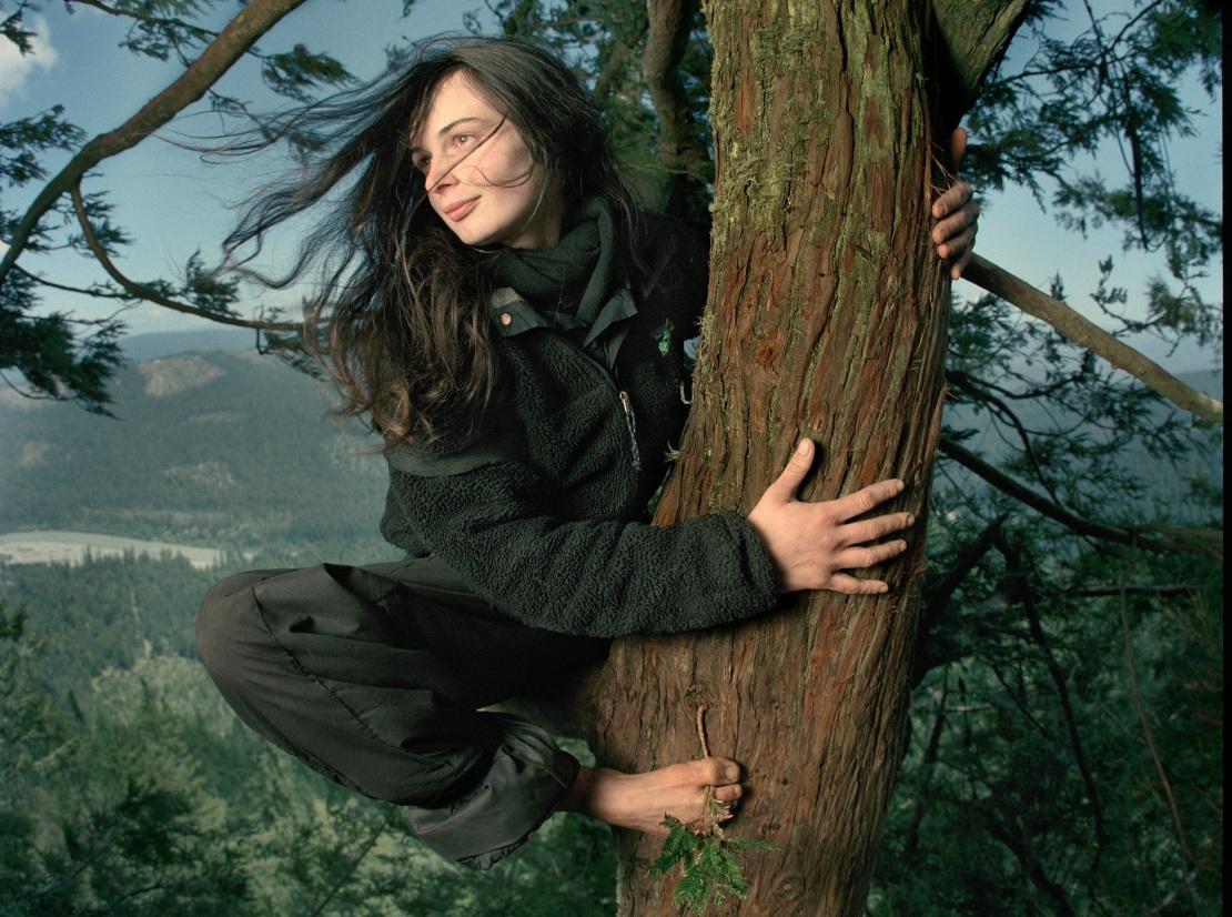 La ragazza sull'albero (Julia Butterfly Hill) | nanita